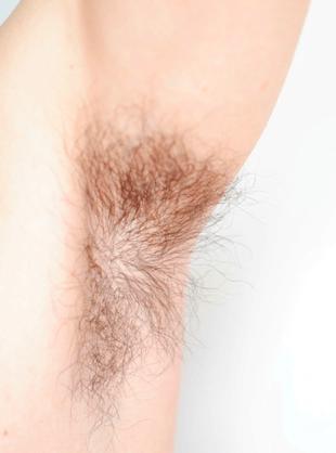 shave armpit