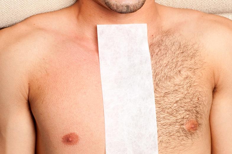borsthaar scheren